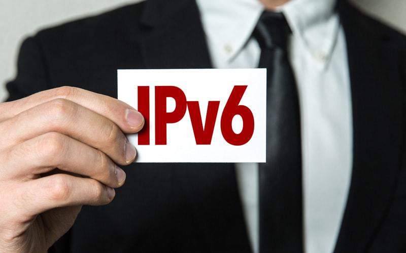 画像:IPv6接続を試してみる